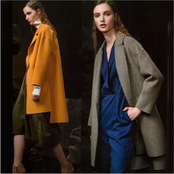 羽桐服饰 品牌女装羊绒大衣 棉衣走份低价直销图片