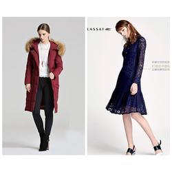 艾格17秋冬款棉衣 呢大衣休闲女装,品牌折扣女装尾货图片