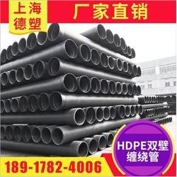 HDPE双壁缠绕管 缠绕管 承插式双壁缠绕管图片