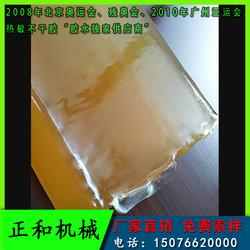 PE膜背胶袋专用热熔胶块 不起皱 粘接强 涂布机专用热熔胶图片