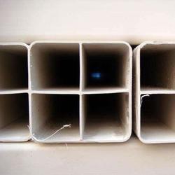 PVC四孔格栅管多孔穿线管dn107图片