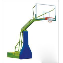 初中用电动液压篮球架生产、长治电动液压篮球架、晶康体育图片
