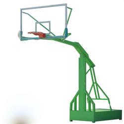 邯郸电动液压篮球架_晶康公司_学校用电动液压篮球架生产厂家图片