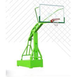 篮球场用电动液压篮球架、晶康公司、乌兰察布电动液压篮球架图片