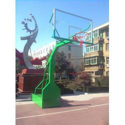 长沙电动液压篮球架_晶康体育公司_电动液压篮球架标准图片
