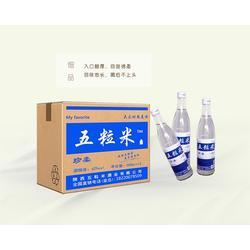 厂家白酒代理-张掖白酒代理-五粒米酒图片