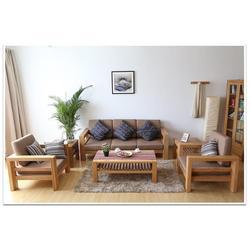 宿迁 极简实木沙发哪里卖、青岛润松图片