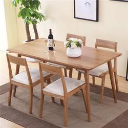南通  实木餐桌椅生产厂家_青岛润松图片