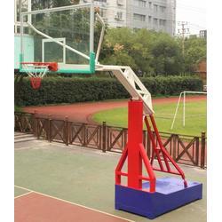 广鑫体育公司,新农村建设用移动篮球架定制,信阳移动篮球架图片
