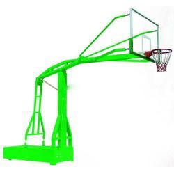 新农村建设用移动篮球架制作 濮阳移动篮球架 广鑫体育(查看)图片