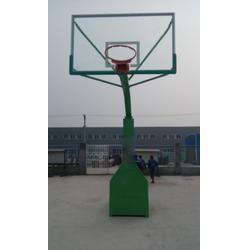 郴州移动篮球架-广鑫体育公司-篮球场用移动篮球架加工厂家图片