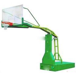 湖南移动篮球架|小区广场用移动篮球架制作|广鑫体育图片