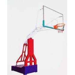 移动篮球架标准、广鑫体育公司、钦州移动篮球架图片