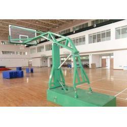 篮球场用移动篮球架加工厂家_长沙移动篮球架_广鑫体育(查看)图片