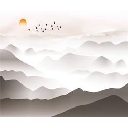 分水山水画,艺品尚装饰,山水画