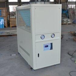 6匹涡旋式风√冷箱式工业冷水机组6HP风冷工业冰水机组冻特殊水机组图片