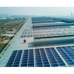 合肥光伏发电,合肥保利光伏发电,屋顶光伏发电系统安装图片