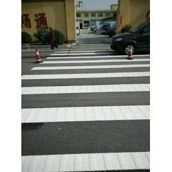 学校道路划线-道路划线-日照国越交通图片