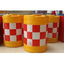 耐压塑料防撞桶_国越交通_南京耐压塑料防撞桶图片