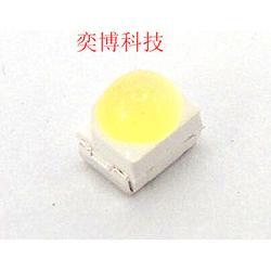 3528聚光凸头球头白光LED灯珠 汽车照明专用LED灯珠图片