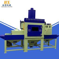 全自动喷砂机 五金表面处理自动喷砂机 自动输送式喷砂机图片