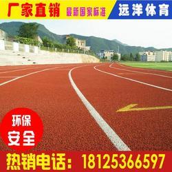 复合型塑胶跑道颗粒 塑胶跑道颗粒施工 400米跑道图片