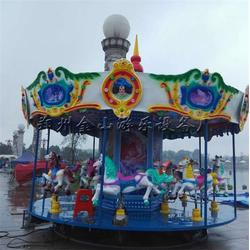 旋转木马-游乐场设施-扬州旋转木马图片