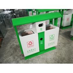 市政保洁桶 城市道路分类垃圾桶 青蓝定制 钢板垃圾桶款式 畅销全国图片