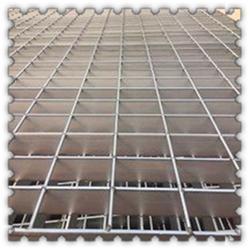 扁钢防滑钢格栅盖板 采油厂防滑钢格栅盖板 钢格栅盖板厂定做生产图片