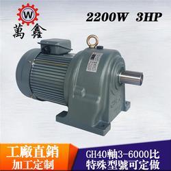 卧式减速电机-万鑫GH卧式减速电机-YUSIN齿轮减速马达图片