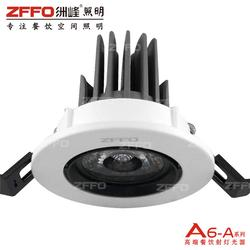 饭店射灯 ZFFO洲峰照明 周口餐饮筒灯效果图图片