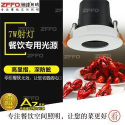 南阳饭店筒灯 ZFFO洲峰照明 饭店筒灯图片
