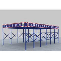 建筑安全防护棚设计-建筑安全防护棚-广东天蓝建筑图片