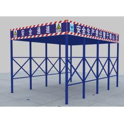 建筑安全防护棚-清远建筑安全防护棚-天蓝建筑图片