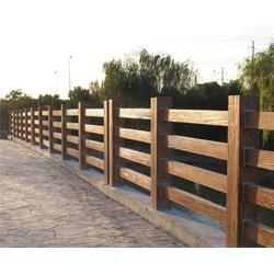 安徽美森园林景观公司|合肥栏杆|水泥仿木栏杆多少钱图片