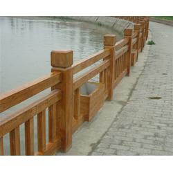 安徽美森|合肥仿木栏杆|仿木栏杆工程图片