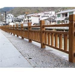 安徽美森仿木栏杆(图)|水泥仿木栏杆定做|合肥仿木栏杆图片