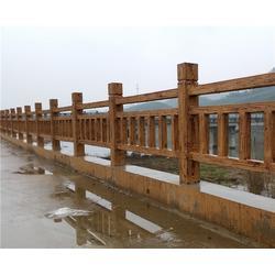 安徽美森|阜阳仿木栏杆|仿木栏杆制作厂家图片
