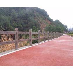 安徽美森仿木栏杆_合肥仿木栏杆_仿木栏杆成品多少钱一米图片
