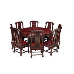红木餐桌哪家好图片