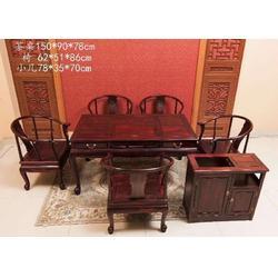 国色天香茶桌多少钱、东阳国色天香茶桌、【大唐红木家具】图片