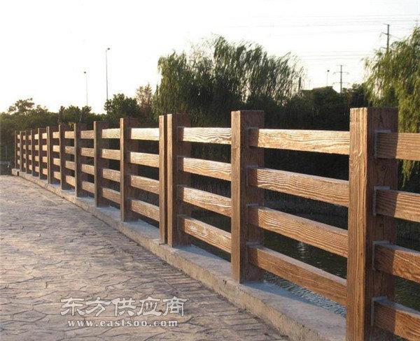 上海仿木栏杆,安徽美森仿木栏杆,景区仿木栏杆图片