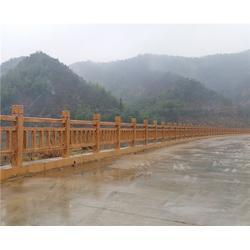 仿木栏杆厂家_安徽美森(在线咨询)_合肥仿木栏杆图片