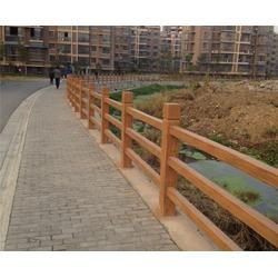 仿木栏杆定做-安徽美森(在线咨询)-杭州仿木栏杆图片