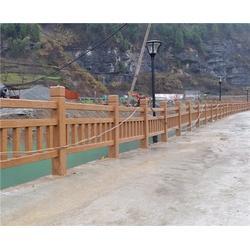 生态仿木栏杆-南京栏杆-安徽美森园林景观图片