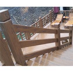 仿木护栏制作-合肥仿木护栏-安徽美森公司图片