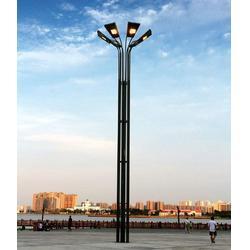玉树双臂高杆灯-信诺灯饰值得信赖-仿古双臂高杆灯厂家图片