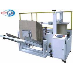 瓦楞纸盒成型机、东莞劲诺自动化、纸盒成型机图片