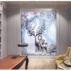 天津背景墙,美克沃德有限公司,客厅背景墙安装图片