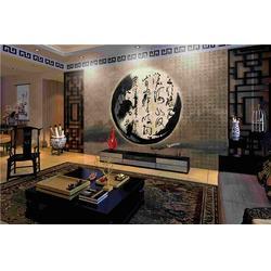 客厅背景墙 美克沃德天津背景墙